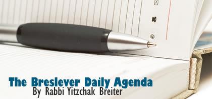 The Breslever Daily Agenda