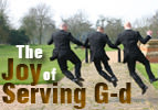 The Joy Of Serving G-d - Ki Tavo