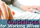 Guidelines for Working Wives