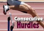 Consecutive Hurdles