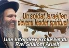 Un soldat israélien devenu leader spirituel