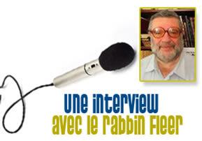 Une interview avec le rabbin Fleer