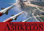 Missile Attack on Ashkelon