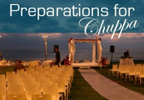 Preparations for Chuppa