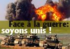 Face à la guerre : soyons unis !