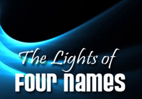The Lights of Four Names