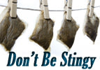 Don't Be Stingy