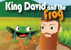 King David and the Frog