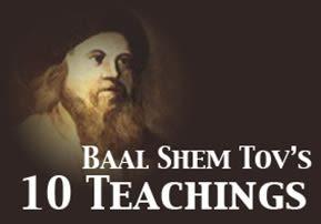Baal Shem Tov's 10 Teachings