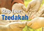 Step Four: Tzedakah