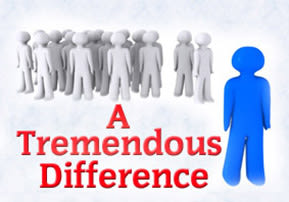 A Tremendous Difference