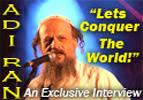 "Adi Ran - ""Lets Conquer the World"""