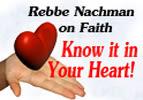 Rebbe Nachman on Faith