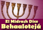 El Midrash Dice -  Behaalotejá