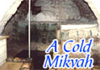 Metzora: A Cold Mikvah