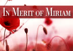In Merit of Miriam