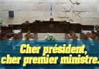 Cher président, cher premier ministre…