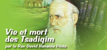 Vie et mort des Tsadiqim - 'Houqath