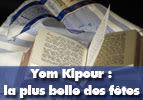 Yom Kipour : la plus belle fête