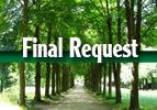 Final Request