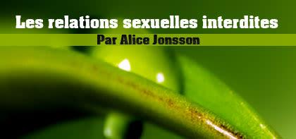Les relations sexuelles interdites