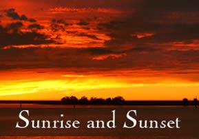 Chayei Sarah: Sunrise and Sunset