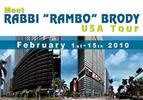 """Meet Rabbi """"Rambo"""" Brody in the USA!"""
