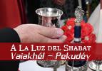 A La Luz del Shabát – Vaiakhél-Pekudéi