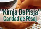 Caridad de Pésaj - Kimja DePisja