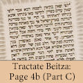 Tractate Beitza: Page 4b (Part C)