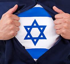 Sei stark und mutig - Solidarität mit Israel