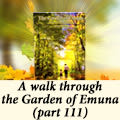A walk through the Garden of Emuna (part 111)