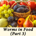 Worms in Food (Part 3)