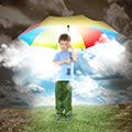 sei ein Regenbogen