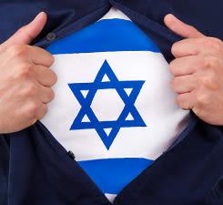 La force est en toi : Monte en Israel