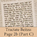 Tractate Beitza: Page 2b (Part C)