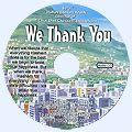 אנחנו מודים לך - אנגלית