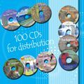100 CDs for Distribution