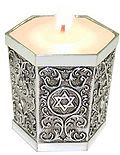 Candle Holder for Yahrzeit Candle