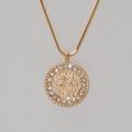 Rohdium Necklace & Shema Yisrael Pendant