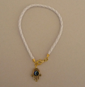 Braided Hamsa Bracelet