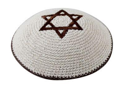 Knitted Kipah, Star of David