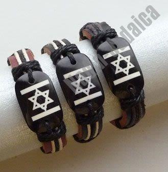 "Quartett-Armband ""Israel-Flagge"""