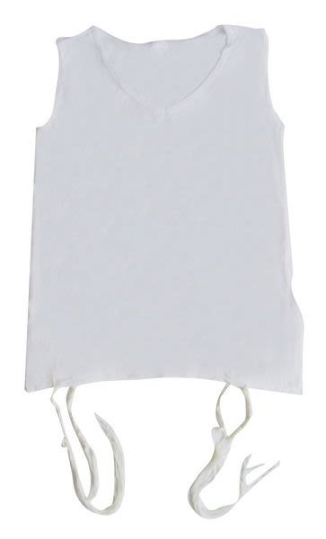 Tzitzit Undershirt, Thick Strings XXL