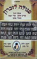 Талисман для памяти от рава Ицхака Кадури