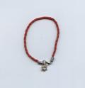 каббалистический красный браслет с магендавидом и глазом