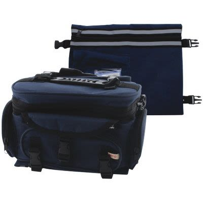 Navy Blue Thermal Tefillin Bag