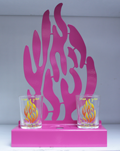 """My Fire"" Candles Stand"