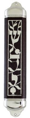 Wooden Mezuzah Cover