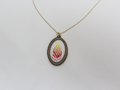 """My Fire"" Necklace with Likutei Mohran"